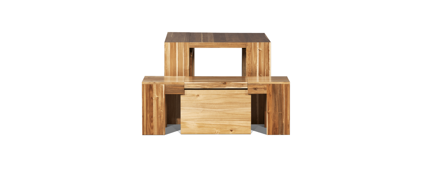 The Dining Set 3.0 + Australian Acacia