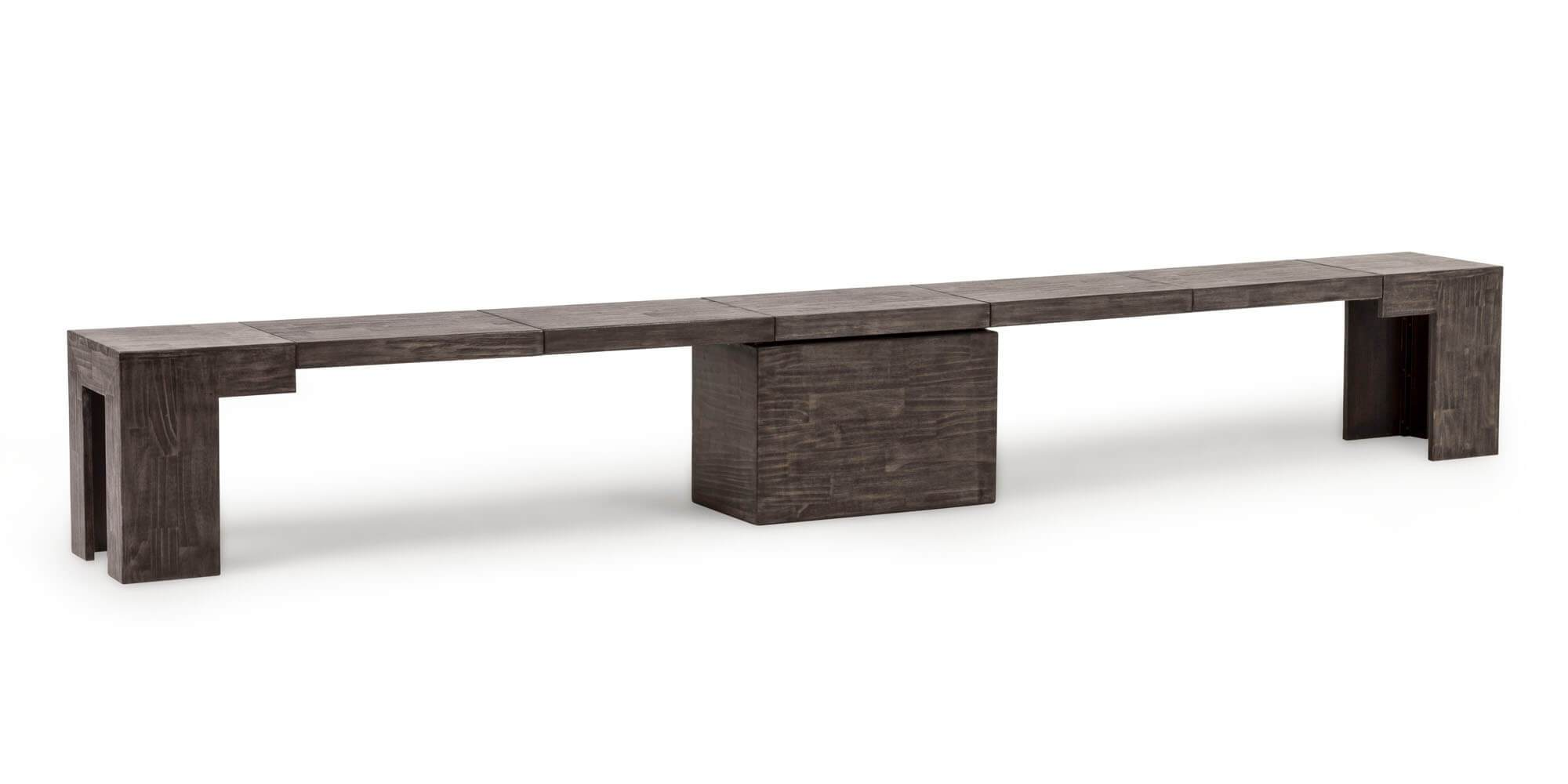 Transformer Bench + Birch Grey