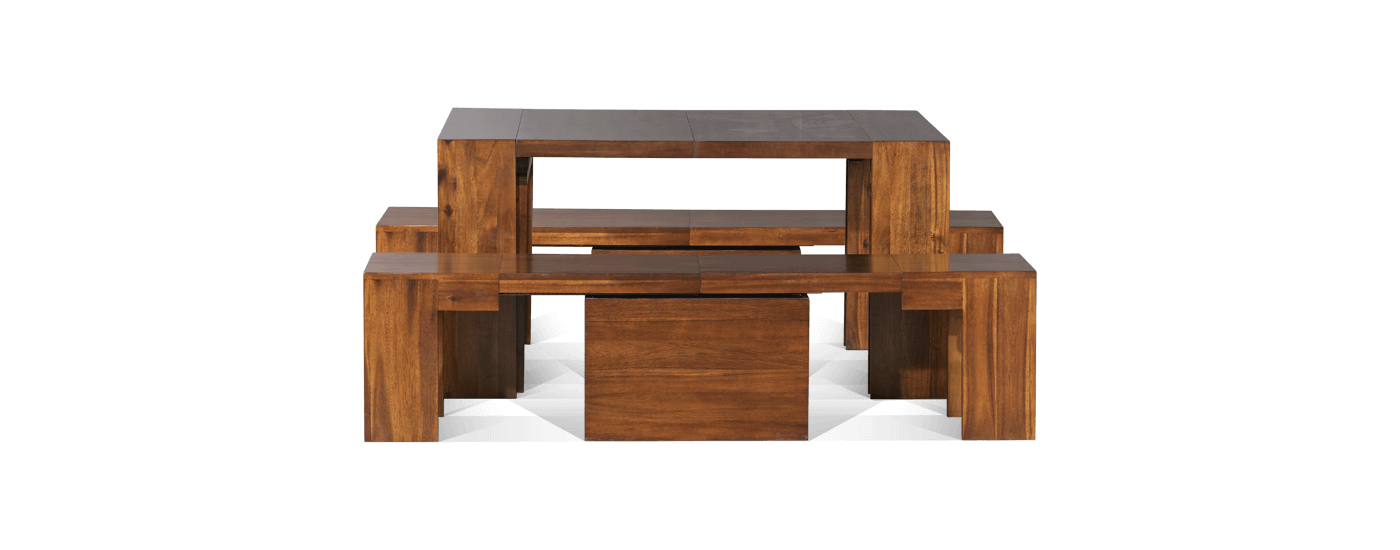 The Full Dining Set 3.0 + American Mahogany