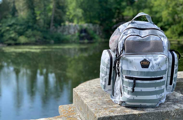 HSD Arctic Camo Backpack