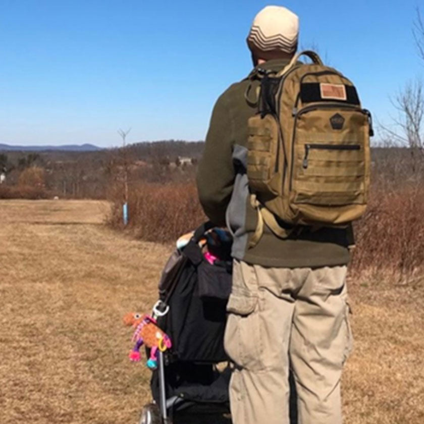 Tactical diaper bag backpacks