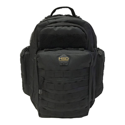 Diaper Bag Backpack - Black - Front