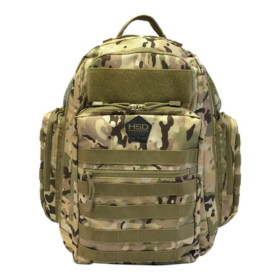 Diaper Bag Backpack - Multicam - Front