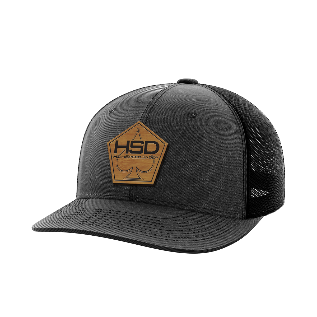 High Speed Daddy Bamboo Patch Hat