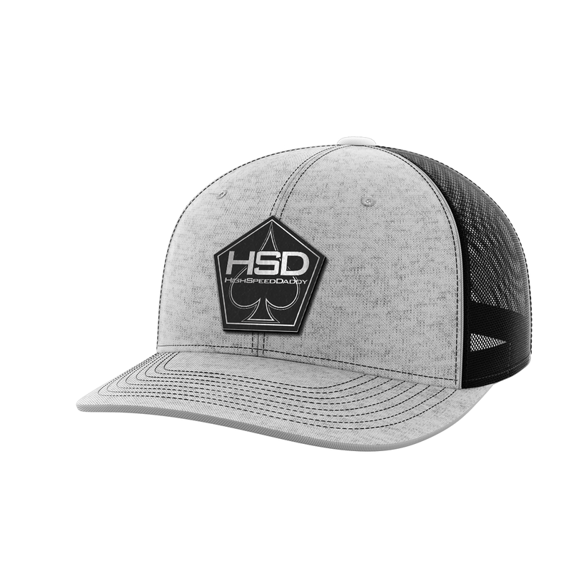 High Speed Daddy Black Patch Hat