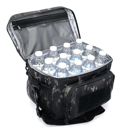 High Speed Daddy Large Lunch Bag with water bottles