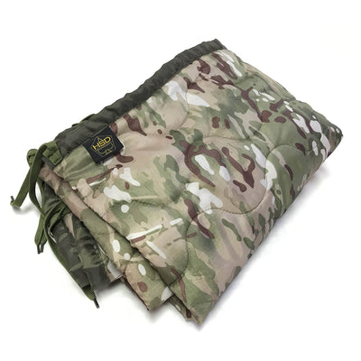 Woobie Blanket Poncho Liners - Multicam - Toddler Size