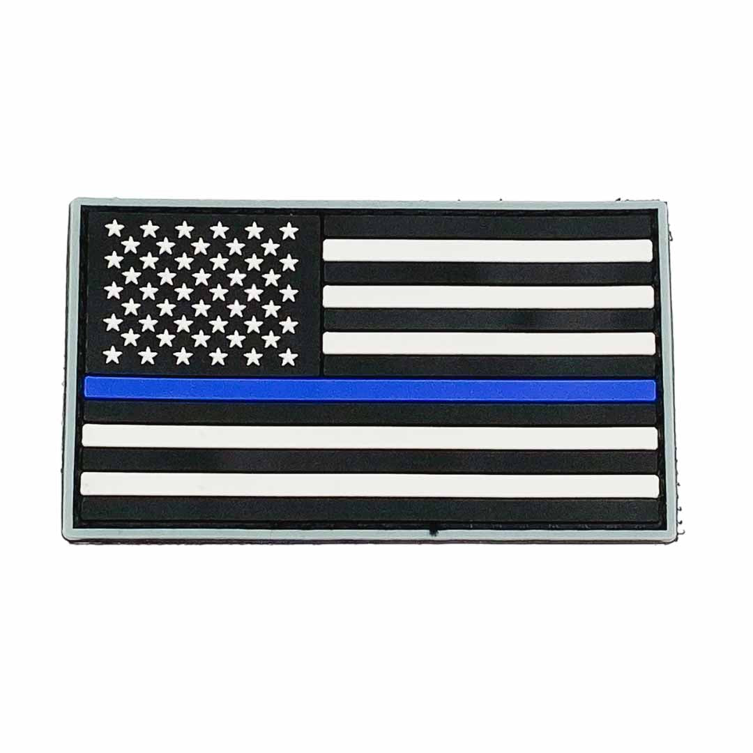 American Flag Patch Thin Blue Line