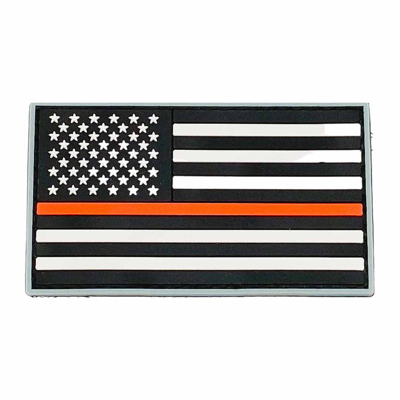 American Flag Patch Thin Red Line