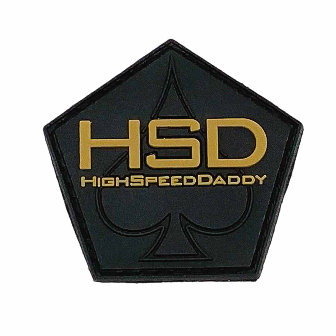 HighSpeedDaddy Logo Patch
