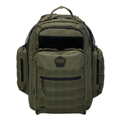 Diaper Bag Backpack - Ranger Green - Front