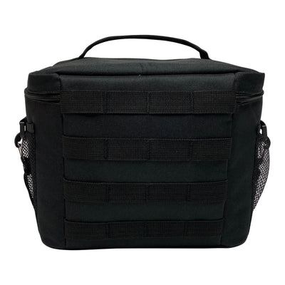 Large Tactical Lunch Bags - Black - Back
