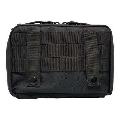 First Aid Kit Pouches - Black - Back