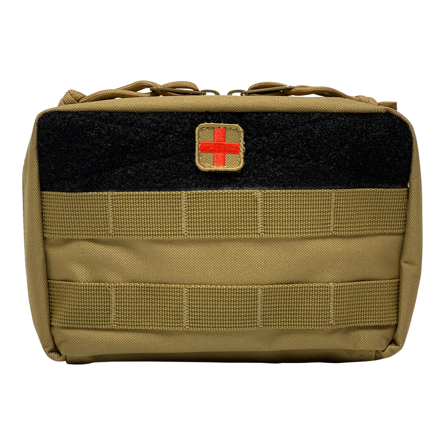 First Aid Kit Pouches - Black - Front