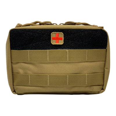 First Aid Kit Pouches - Coyote Brown - Front
