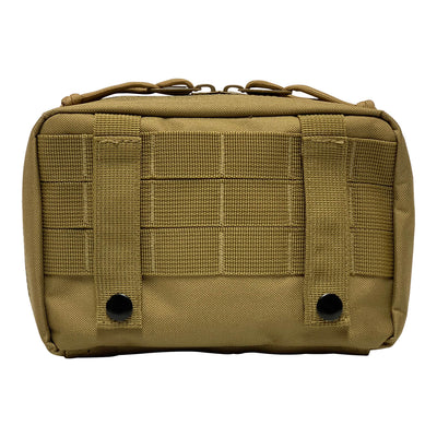 First Aid Kit Pouches - Coyote Brown - Back