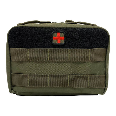 First Aid Kit Pouches - Ranger Green - Front