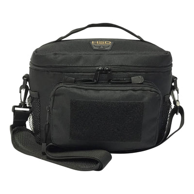 Medium Tactical Lunch Bags - Black - Front