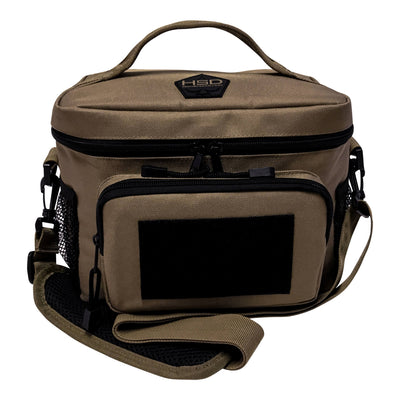 Medium Tactical Lunch Bags - Coyote Brown - Front