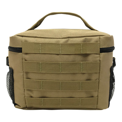 Medium Tactical Lunch Bags - Coyote Brown - Back