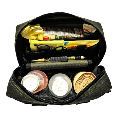 First Aid Kit Pouches - Black - Supplies
