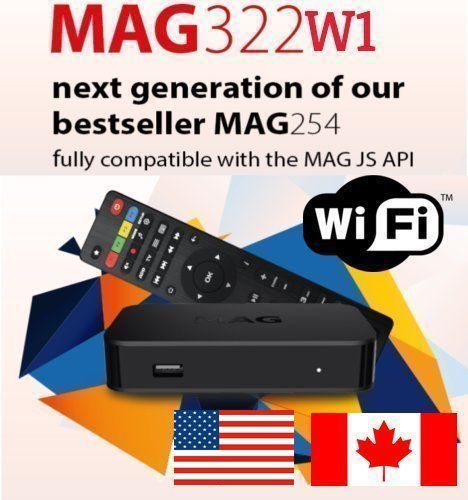 IPTV SET-TOP BOX MAG322-W1