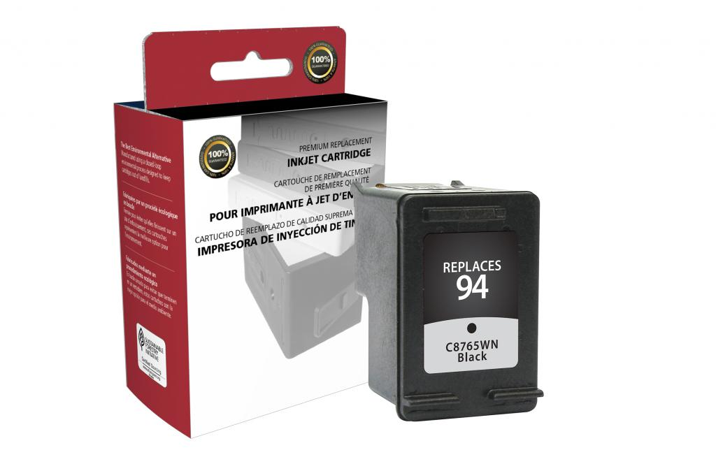 Black Ink Cartridge for HP C8765WN (HP 94)