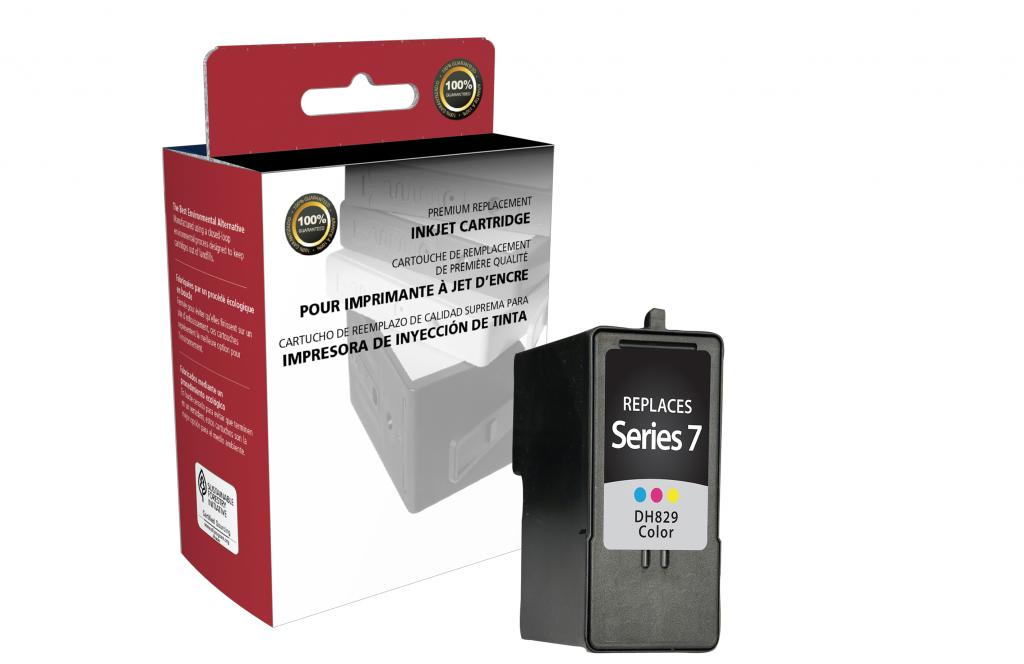 High Yield Color Ink Cartridge for Dell Series 7