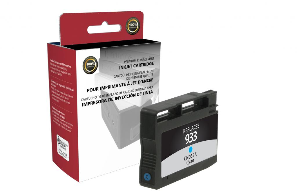 Cyan Ink Cartridge for HP CN058AN (HP 933)