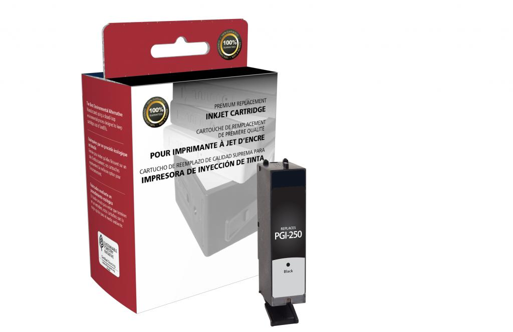 Black Ink Cartridge for Canon PGI-250