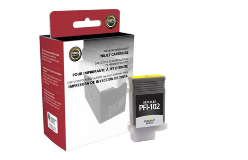 Yellow Ink Cartridge for Canon PFI-102
