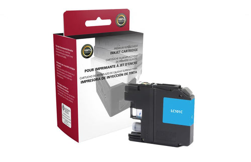 Cyan Ink Cartridge for Brother LC101