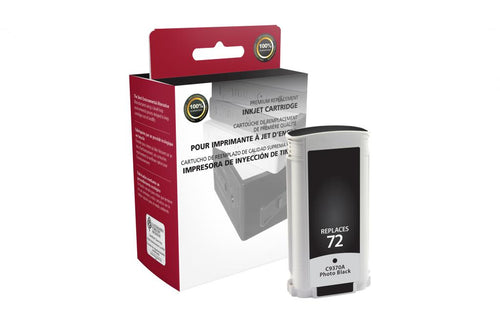 Black Ink Cartridge for HP C9370A (HP 72)