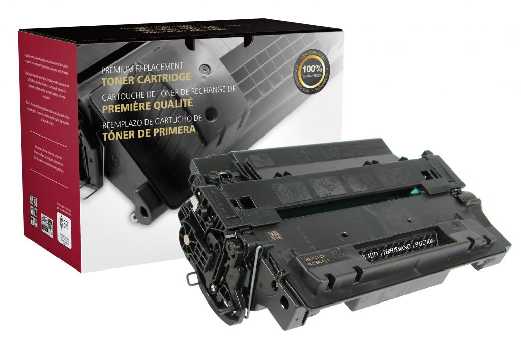 High Yield Toner Cartridge for HP CE255X (HP 55X)
