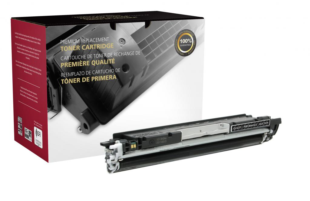 Black Toner Cartridge for HP CE310A (HP 126A)