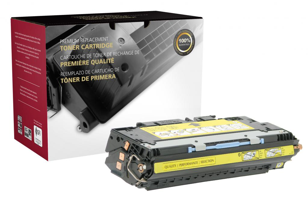 Yellow Toner Cartridge for HP Q2682A (HP 311A)