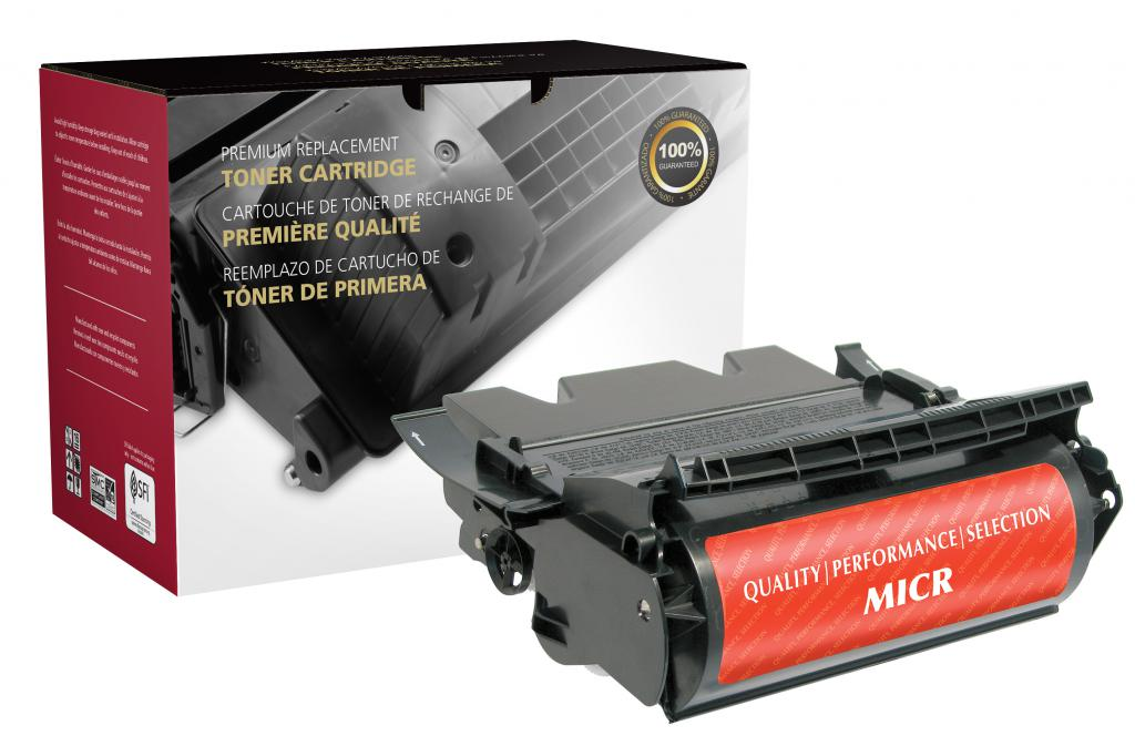 High Yield MICR Toner Cartridge for Lexmark T640/T642/T644/X642/X644/X646