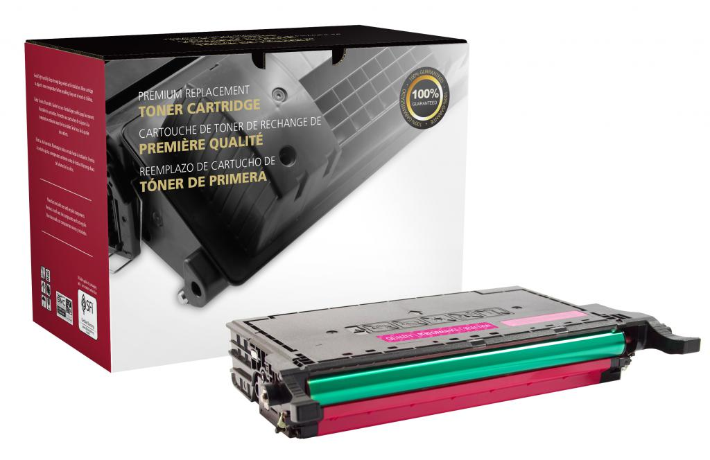 High Yield Magenta Toner Cartridge for Samsung CLT-M508L/CLT-M508S