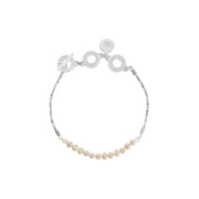 Couture Morning Dew Pearl Bracelet in Silver