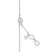 Dance Winter Dew Long Necklace in Silver