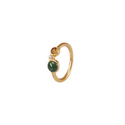 Fairytale Winter Spruce Ring with Green Onyx
