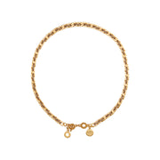 Poem Naja Short Necklace in Gold