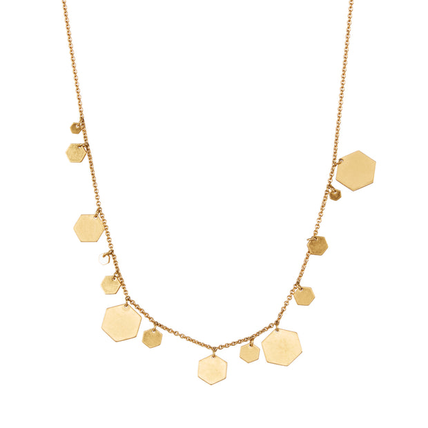 Shadow Necklace in Gold