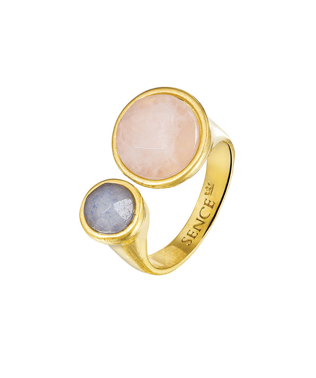 Bauhaus Ring in Plated Gold