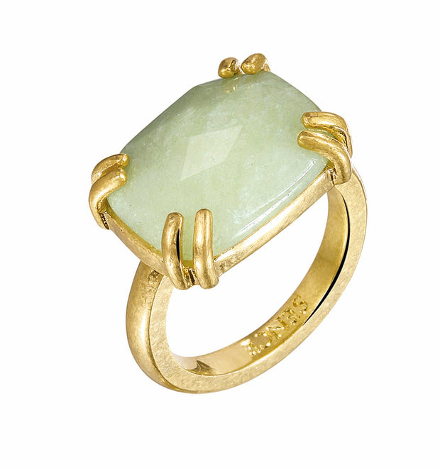 Serenity Ring in Plated Gold