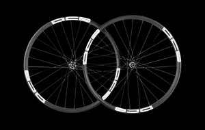 27.5+ DCB Carbon Wheels 40mm/35mm internal/30mm deep/DS04-27.5-XC/420g, Standard Spokes, Shimano Driver