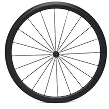 Load image into Gallery viewer, 700c DCB Carbon CX or Road ENVE Style Rim Brake Wheels Powerway Hubs
