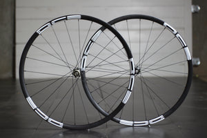 27.5 Carbon MTB Wheels DT 350 White Decals