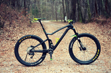 Load image into Gallery viewer, DCB F100 Scott Spark Style Carbon Full Suspension Frame 29er or 27.5+