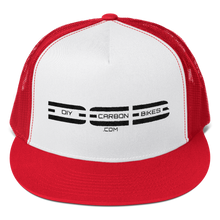 Load image into Gallery viewer, DCB Flatt Bill Trucker Cap - Various Colors